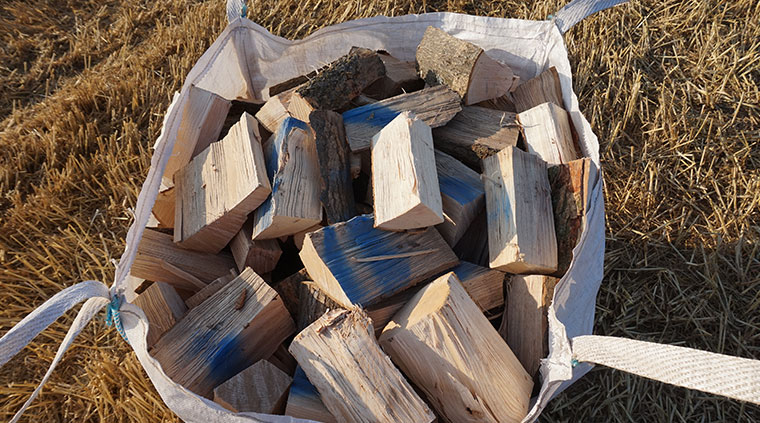 Kiln Dried Log Delivery Services from Meadow Grange Nursery