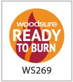 We are Woodsure Accredited for firewood logs